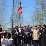 Священник принял участие в торжественном митинге в д. Хохряки