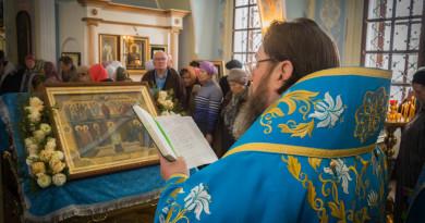 Архиерейское служение в день праздника Покрова Пресвятой Богородицы