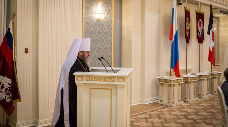 Митрополит Викторин принял участие в заседании коллегии УФМС России по Удмуртской Республике
