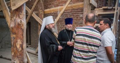 Митрополит Викторин ознакомился с реставрацией Благовещенского собора г. Воткинска