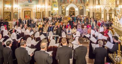 В Михайловском соборе прошел концерт Академической хоровой капеллы УР