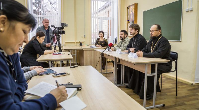 В Колледже духовно-нравственного образования прошла пресс-конференция