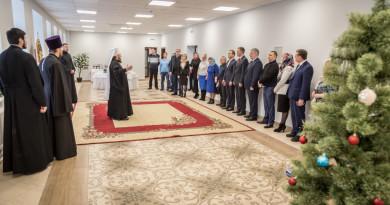 В новом здании Ижевского епархиального управления состоялось чествование благотворителей