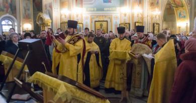 Михайловский собор посетила икона Божией Матери Ташлинская