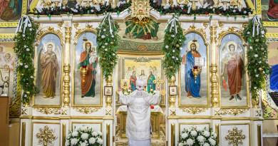 Архипастырское служение в третий день Рождества Христова