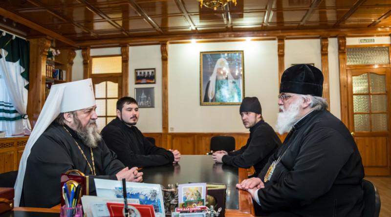 Рабочая встреча митрополита Викторина и епископа Антония