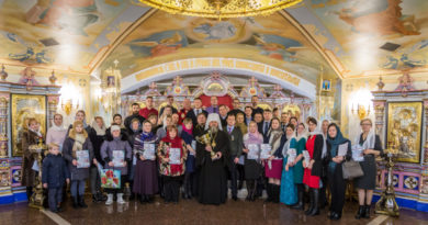 Митрополит Викторин встретился с организаторами II Зимней Спартакиады православной молодежи