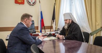Правящий архиерей провел рабочую встречу с Главой Воткинского района