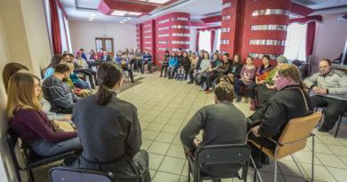 В рамках Спартакиады православной молодежи состоялась просветительская беседа для участников