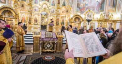 Служение митр. Викторина в Неделю Торжества Православия
