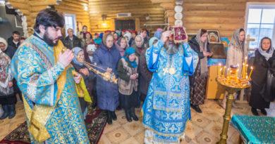 Освящение храма Покрова Пресвятой Богородицы с. Каменное