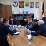 Встреча благочинного Якшур-Бодьинского округа с Главой Якшур-Бодьинского района