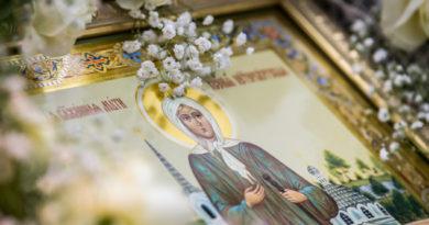 Престольный праздник храма блж. Ксении Петербургской п. Ува