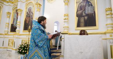 Освящение храма в Липовой роще