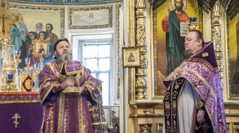 В Неделю вторую поста митр. Викторин посетил Александро-Невский собор