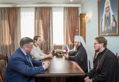 Состоялась встреча митр. Викторина с и.о. заместителя Председателя Правительства УР