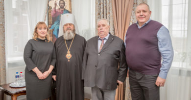 Правящий архиерей вручил епархиальные награды благотворителям