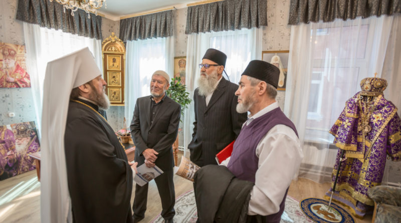 Глава Удмуртской митрополии встретился с представителями религиозных объединений