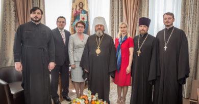 Митр. Викторин встретился с представителями Министерства образования Удмуртии и ректором УдГУ