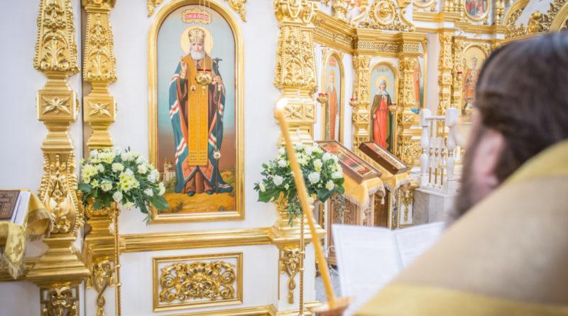 В день памяти свт. Луки Крымского митр. Викторин помолился в кафедральном храме