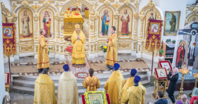 Престольный праздник храма прав. Иоанна Кронштадтского п. Ува