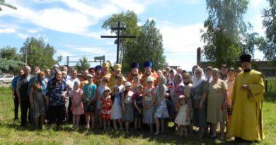 В д. Гавриловка Воткинского района помолились перед началом строительства нового храма