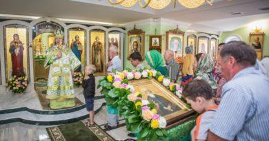 Архиерейское служение в день памяти прп. Сергия Радонежского
