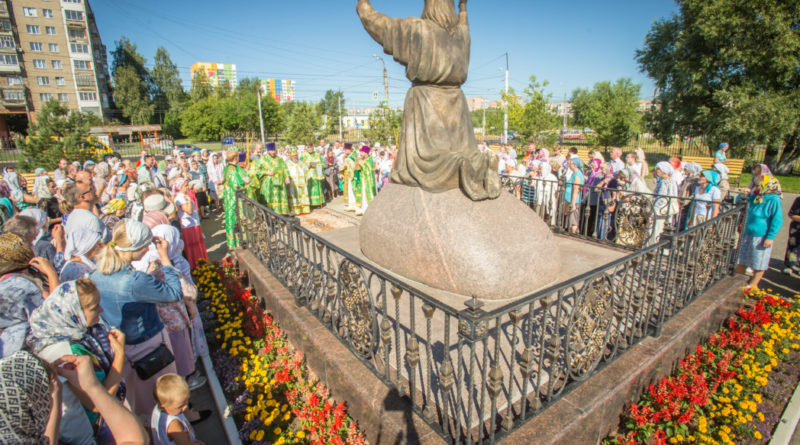 Престольные торжества в храме прп. Серафима Саровского г. Ижевска