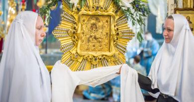 Архипастырское служение в день празднования Почаевской иконы Пресвятой Богородицы