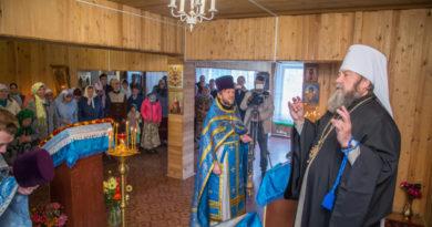 Митр. Викторин посетил приход в с. Постол и объявил об открытии гуманитарного центра