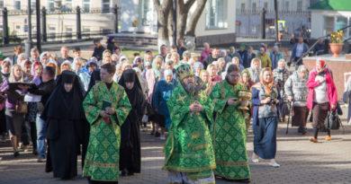 Престольный праздник Александро-Невского собора