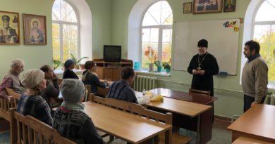 Начались занятия иконописной школы «Ставрос»