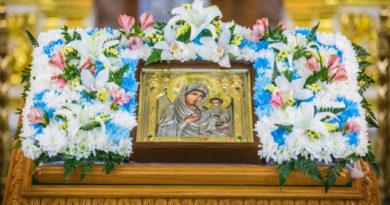 Престольные торжества прошли в храме Иверской иконы Пресвятой Богородицы г. Ижевска