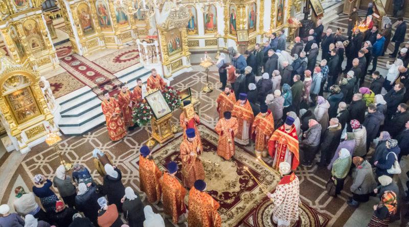 Престольные торжества в кафедральном храме