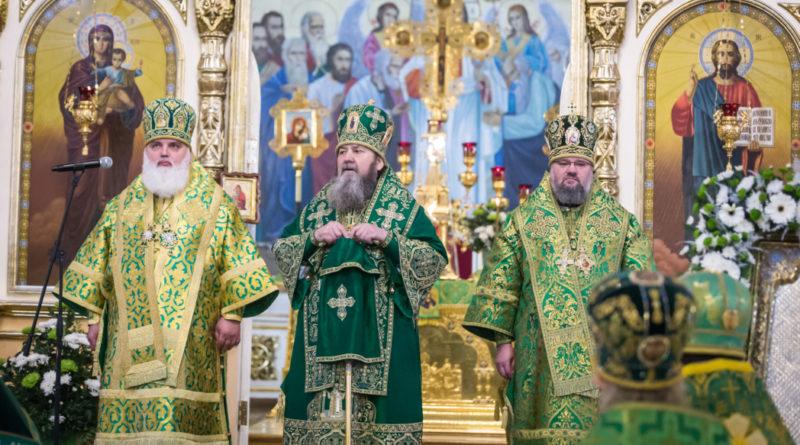 Торжества в честь 195-летия Александро-Невского собора
