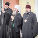 В Епархиальном управлении митр. Викторин встретился с гостями епархии, прибывшими на юбилейные торжества