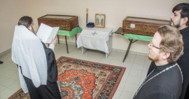 Завершилось исследование останков свщмч. Николая Чернышева и его дочери мц. Варвары