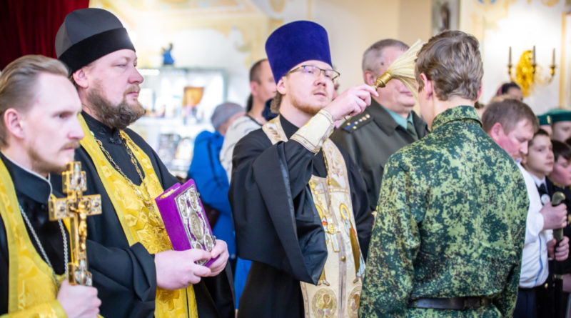 присяга кадетских казачьих групп