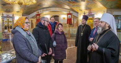 Кафедральный собор Ижевска посетили эксперты Совета Европы