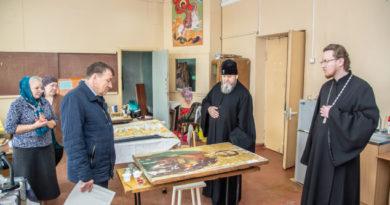 Состоялась рабочая встреча митрополита Викторина и министра культуры УР