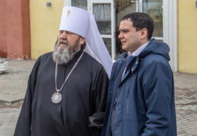 Митрополит Викторин встретился с Главой Ленинского района г. Ижевска