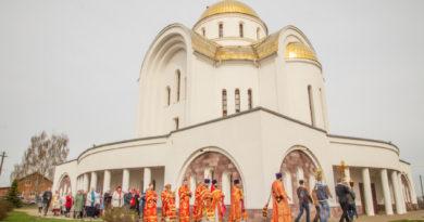 Престольные торжества в Георгиевском храме г. Воткинска