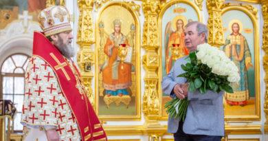 Митрополит Викторин принял поздравления с Днем рождения