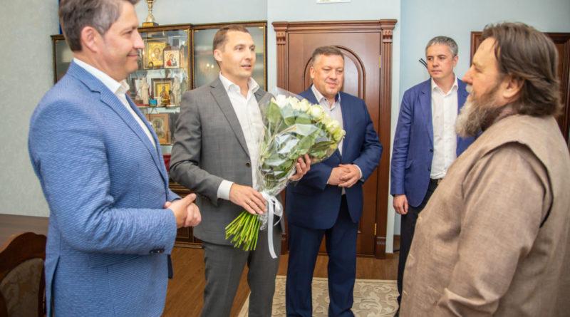 Состоялась встреча митрополита Викторина и Главы МО «Город Ижевск»