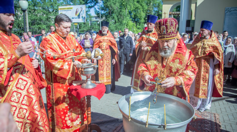 Престольные торжества в храме свт. Алексия Московского г. Ижевска