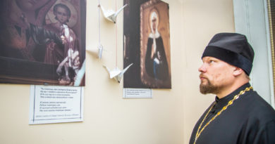 В рамках социального марафона «Жизнь» в ГКБ № 1 открылась православная фотовыставка
