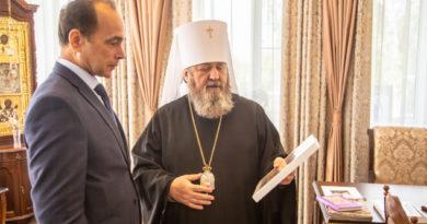 Митрополит Викторин встретился с Главным федеральным инспектором по Удмуртской Республике