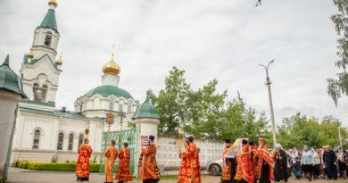 Престольный праздник Пантелеимоновского храма г. Воткинска