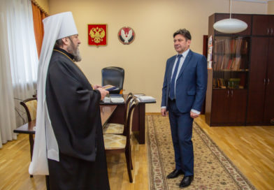Митр. Викторин поздравил с 60-летием А.С. Лещинского