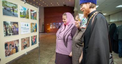 В рамках проекта «Епархиальный медиацентр» прошла выставка фотографий